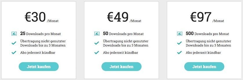 Preise Monatsabo adpic