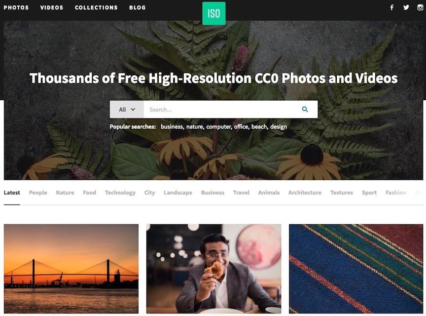 Lizenzfreie Bilder kostenlos - isorepublic website