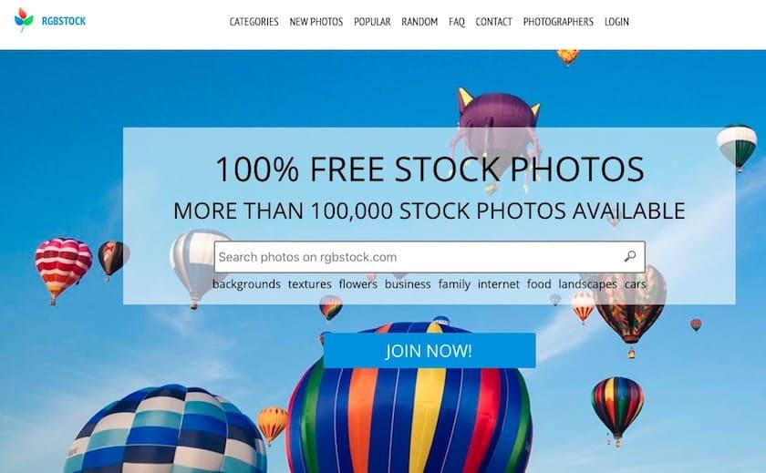 Lizenzfreie Bilder kostenlos - rgbstock website