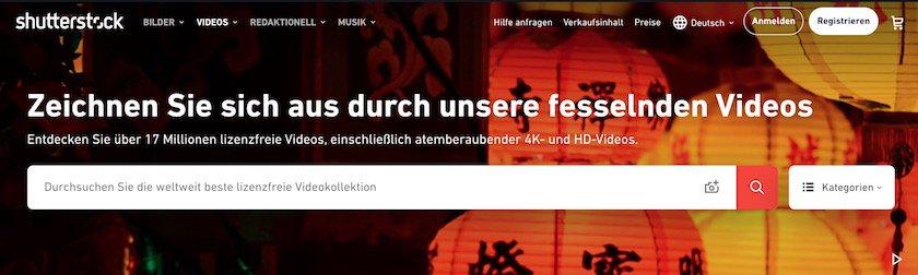 Landingseite Stock Videos Shutterstock